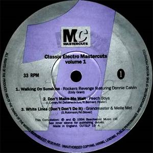 'Classic Electro Mastercuts Volume 1' (1994)